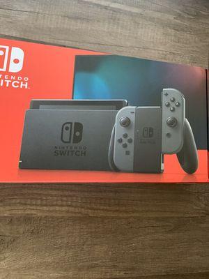 Nintendo switch v2 gray joycon 32gb for Sale in Los Angeles, CA