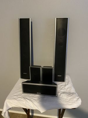 Sony Home Theater Speakers & Subwoofer. for Sale in Fort Lee, NJ