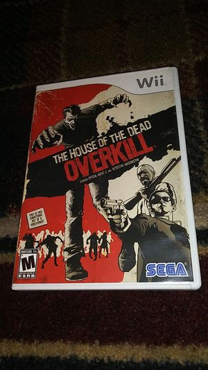 THE HOUSE OF THE DEAD OVERKILL - (USED) Nintendo Wii & Wii U video game for Sale in Stockton, CA