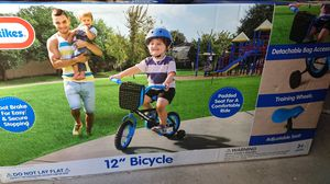 Little Tikes 12 inch bicycle bike blue for Sale in San Diego, CA