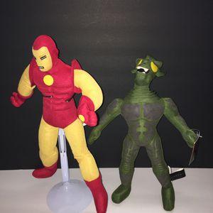 Iron man and green goblin plush for Sale in Miami, FL