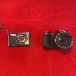 Olympus Stylus and Fujifim Fine pix S Camera for Sale in Brookfield,  IL