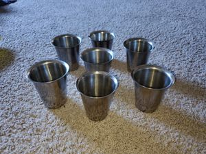Kitchen silver spoons,tumblers and utensils for Sale in Bloomington, IL