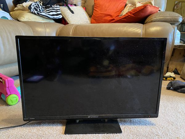Small HD TV with Built in DVD Player