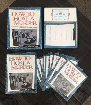 How to Host A Murder Game Complete just $5 for Sale in Port St. Lucie, FL