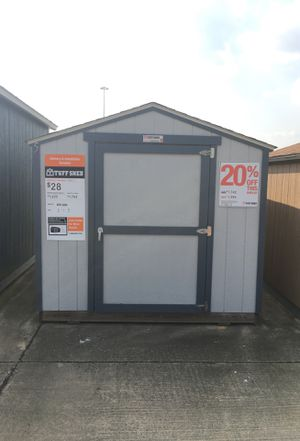 576 Tuff Shed KR600 8x12 display model. Was $1,742 Now $1,394 for Sale in Humble, TX