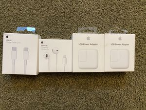 Apple chargers and cables for Sale in Issaquah, WA
