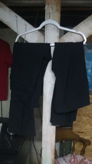 Two pair of black pants. Number 2. Please read description for sizes and brand for Sale in Freeland, PA