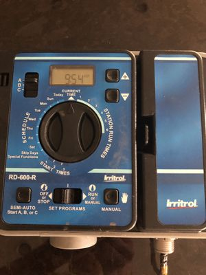 Irritrol Rain Dial for Sale in Layton, UT