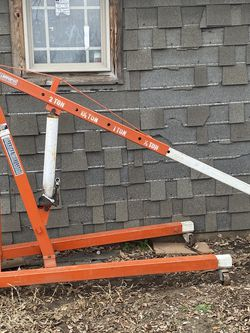Cherry Picker Shop Crane Lift for Sale in Oklahoma City,  OK