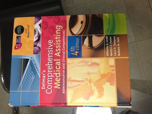 Delmar's Comprehensive Medical Assisting 4th Edition Textbook for Sale in Hialeah, FL