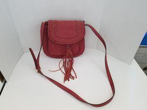 San Paulo Suede Saddle Bag for Sale for sale  Menifee, CA