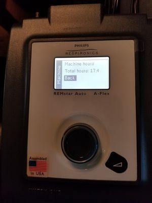 Remstar auto a-flex philips respironics cpap sleep apnea machine 17 for Sale in Los Angeles, CA