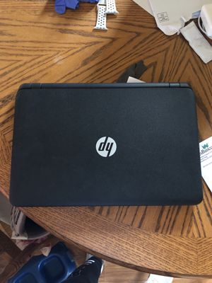 HP pavilion, touch screen & comes with charger for Sale in Wellsburg, WV
