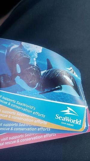 4 SeaWorld tickets for Sale in La Mesa, CA