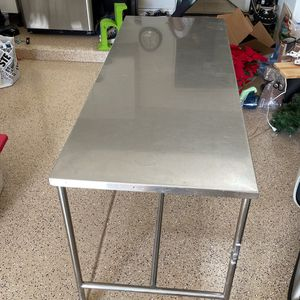 Stainless steel rolling table for Sale in Paradise Valley, AZ