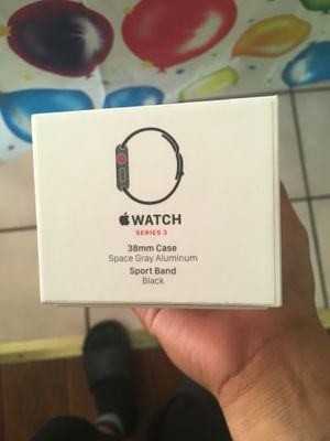 Apple Watch Series 3 Aluminum Case 38mm Gps+Lte for Sale in Phillips Ranch, CA