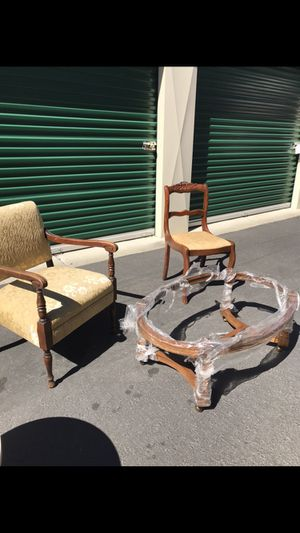 Vintage Chairs, tables for Sale in San Leandro, CA