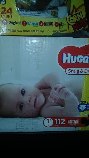 Huggies pampers diapers for Sale in Phillips Ranch, CA