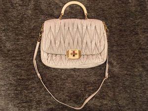Miu Miu Matelassé Leather Women's Bag Purse - for Sale in Irvine, CA