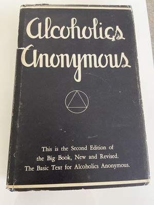 Alcoholics Anonymous 2nd edition for Sale in Reno, NV