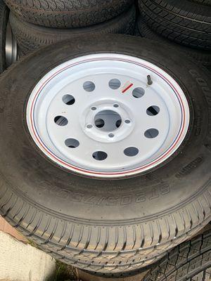 White rim trailer tires for Sale in San Diego, CA