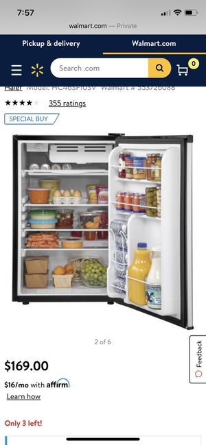 haier refrigerator| pick up in Elmhurst Queens for Sale in Queens, NY