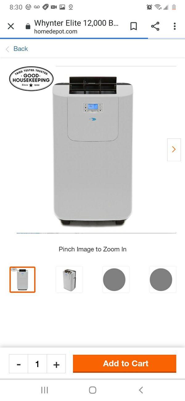 Portable Air Conditioner with Dehumidifier