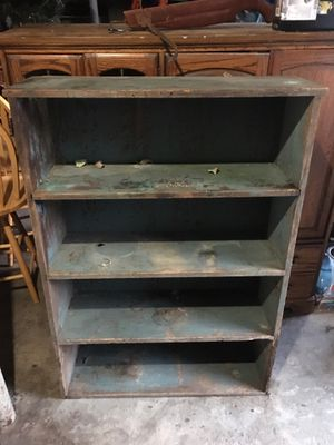 Distressed old bookshelves for Sale in Providence, RI