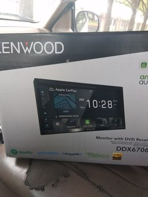 Brand new 7inch Kenwood touch screen still in box for Sale in Beaumont, TX