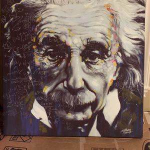 "Einstein canvas wall art 38"" x 38"" for Sale in Portland, OR"