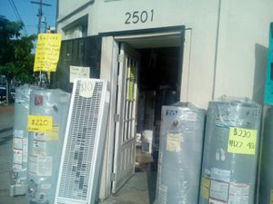 Water heater! We are located on 2501 w. 54th st Los Angeles CA ! Ask for Isabel for a 10% off for Sale in Los Angeles, CA