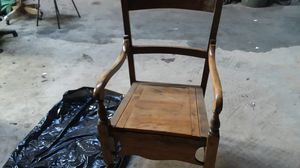 Very old antique potty chair check the other picture for Sale in Moreno Valley, CA