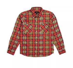 NEW WITH TAGS BRIXTON BENNET LONG SLEEVE FLANNEL MENS MEDIUM for Sale in Poway, CA
