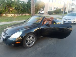 Lexus SC430 Hardtop convertible Red on Black for Sale in Los Angeles, CA