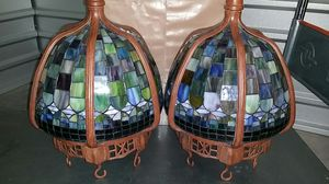 Tiffany Style stain glass hanging chandelier for Sale in Kirkland, WA