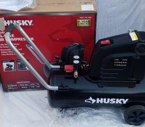 Air Compressor New in Open Box Husky 8G 150 PSI Portable for Sale in Arlington,  TX