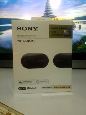 Sony WF-1000XM3 Ear buds for Sale in Irwindale, CA