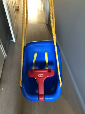 Little Tikes 2-in-1 Snug and Secure Swing - Blue for Sale in Fort Lauderdale, FL