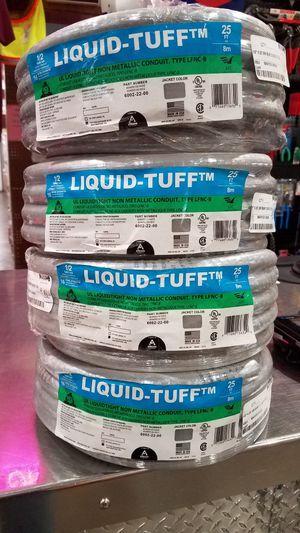 1/2 Conduit Liquid-Tuff 25ft for Sale in Vancouver, WA
