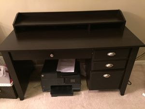 Dark Wood Desk Priced to Sell for Sale in Odenton, MD