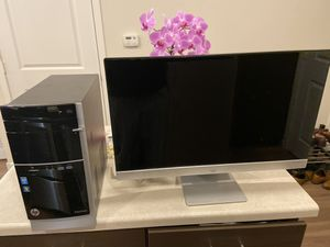 """Desktop intel core 3. 27 inch hp HP Pavilion 27""""xi"""" HD 1080P LED Backlit Monitor for Sale in St. Louis, MO"""