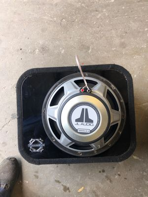 Jl audio sub subwoofer boom box bassworx for Sale in Sacramento, CA
