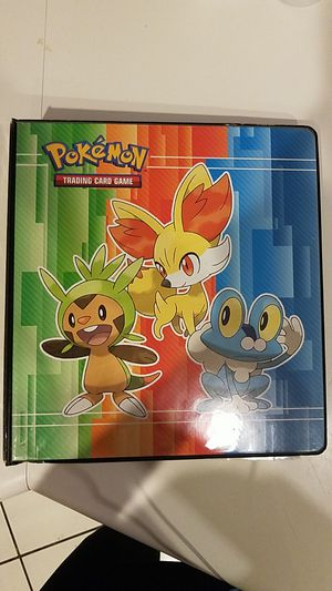 Pokemon card binder with card inserts for Sale in Las Vegas, NV