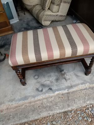 Vintage wooden bench for Sale in Canton, GA
