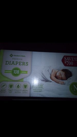 New born baby diapers for Sale in Las Vegas, NV