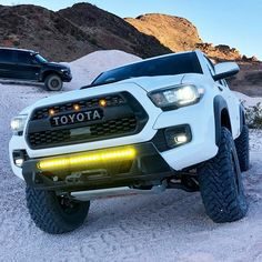Toyota Tacoma TRD PRO Matte Black Grill Front Bumper Hood Grille For 2016-2021 Tacoma With 4 Amber Running Lights WITH SENSOR COVER for Sale in Fullerton,  CA