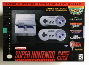Super Nintendo Entertainment System Classic Edition Mini Console for Sale in Columbus, OH