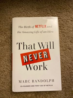 Book That Will Never Work for Sale in Austin, TX