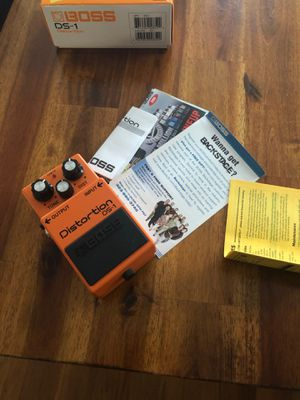 Boss DS 1 Distortion Pedal for Sale in Hanscom Air Force Base, MA